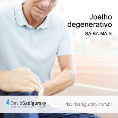 Joelho degenerativo